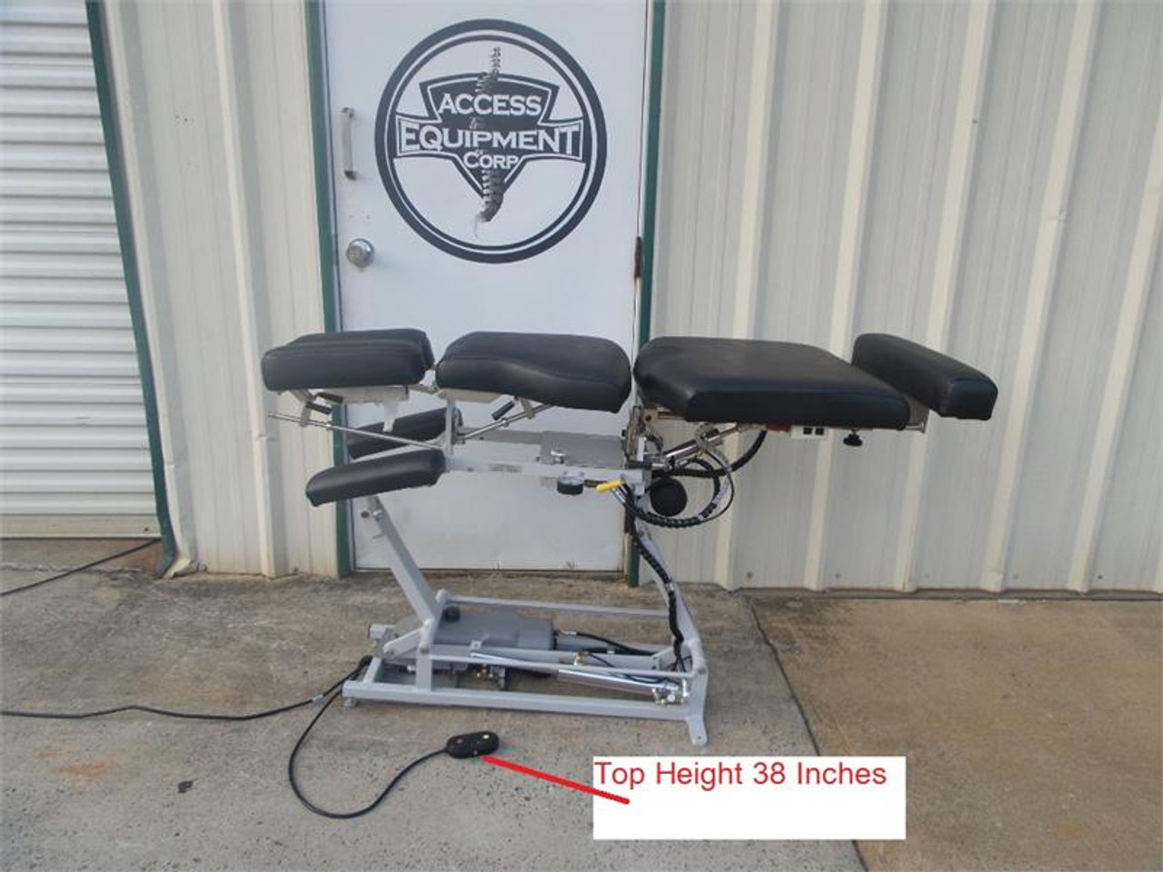 Used Lloyd 402 Manual Flexion Elevation Table