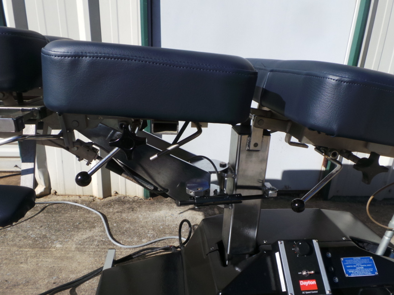 Used Leander Elevation Auto Flexion Table Chest Drop