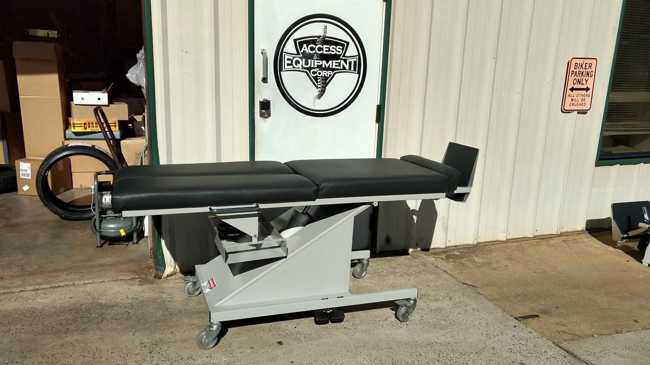 Used 645 Activator Hylo Table-Manual Foot Board & Castors Charcoal
