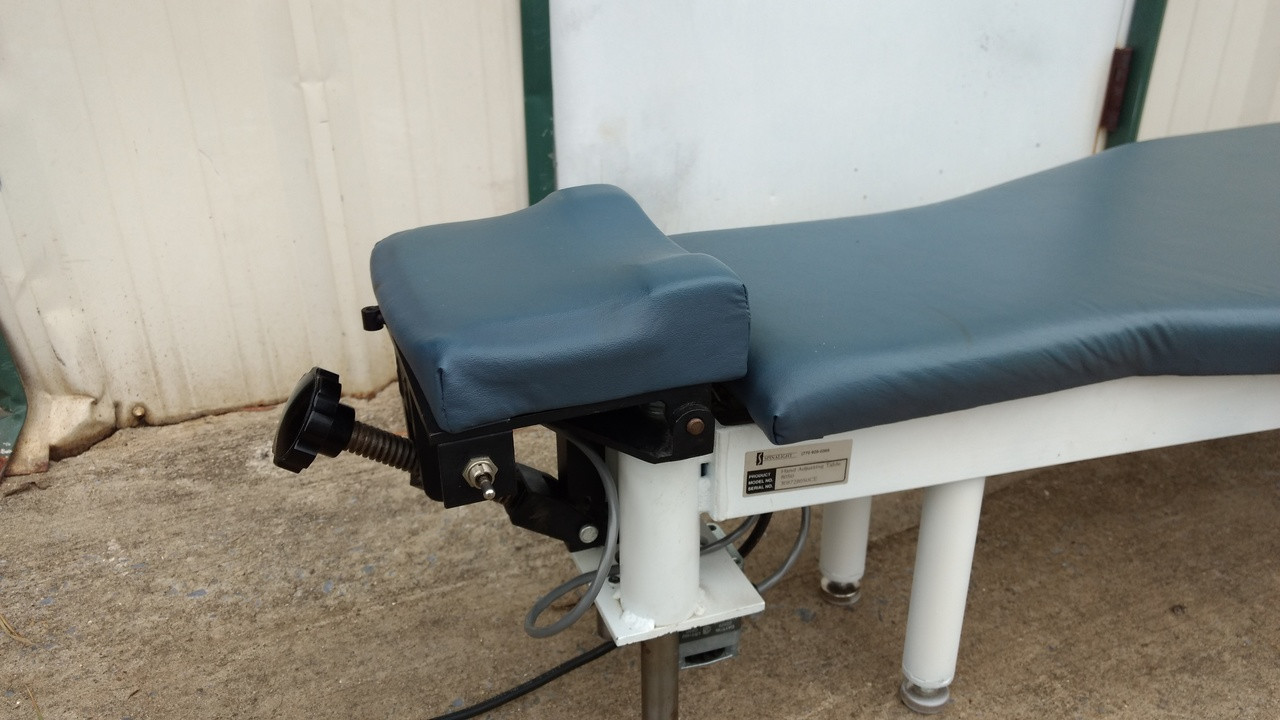 Spinalite Grostic Side Posture Table  with Electric Elevation Cervical