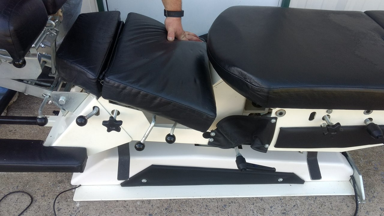 Used Elite Elevation Manual Flexion Table Breakaway Chest Option