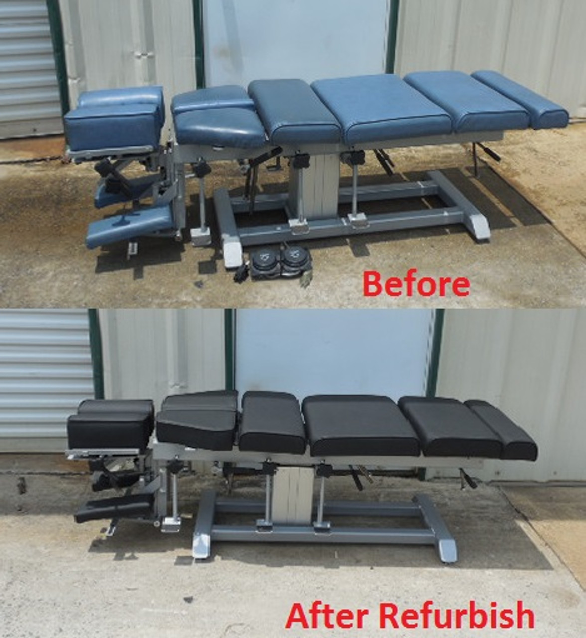Used Omni Elevation Table - New Style Black Top  Only