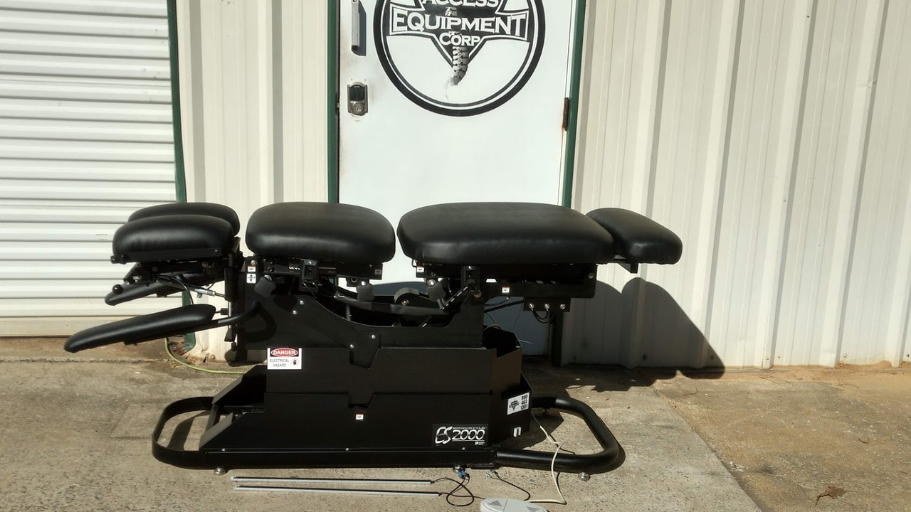 Used Chattanooga ES 2000 Elevation Air Drop Table - BLACK