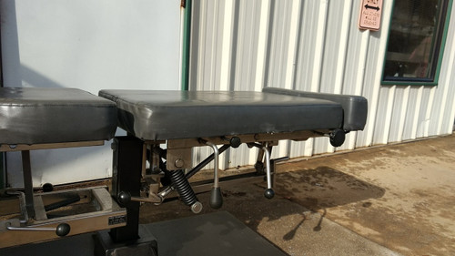 Used Titan Elevation Manual Flexion Table With Pelvic , Chest & Cervical  Drop