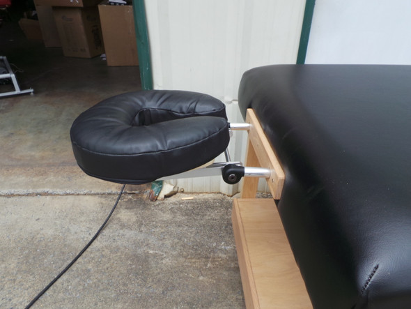 Massage Bench Table with Shelf & Tilt Head
