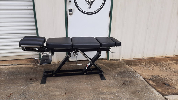 Used Hessco  Elevation Table - Cervical Drop Chest Drop pelvic Drop