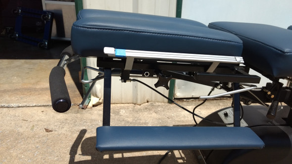 Zenith Eckard Elevation Flexion Table  with 3 Drops - New Navy Heritage Upgraded Upholstery