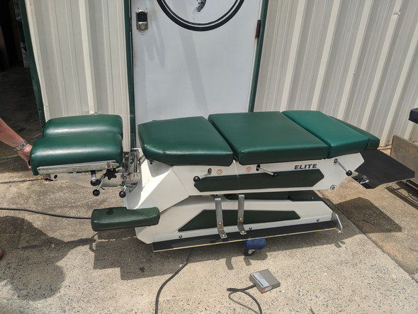 Used Elite Hylo Table with 4 Drops -