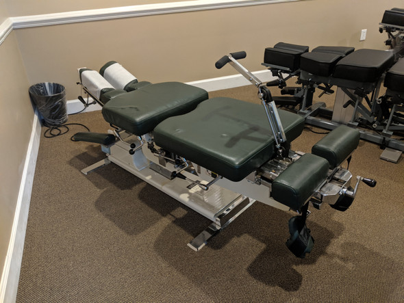 Used Zenith Cox 95  Flexion Table with  CD, DD, & PD