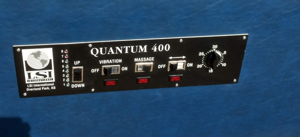 Used Quantum 400  IST Table  - Extra Wide Navy Top