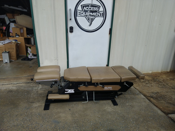Used Elite Foot-Pump Elevation Table with 3 Drops