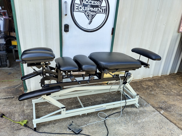 Chattanooga Ergo Elevation Table  with 5 Drops- Black Upholstery ONLY
