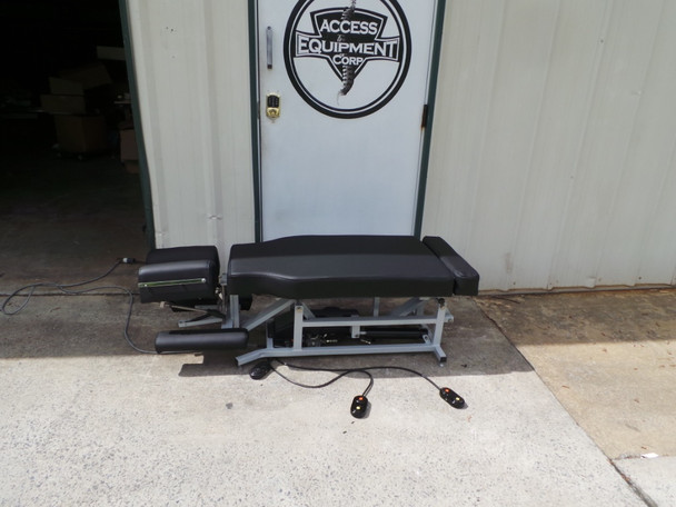 Used Lloyd 402 Elevation Table - Deluxe Cervical Upgraded Black Heritage