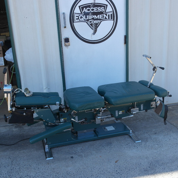 Used Zenith Cox 100 Flexion Table with Flexion Power Balance