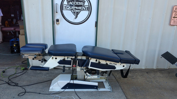 Used Elite Elevation Automatic and Manual Flexion Table with 3 Drops