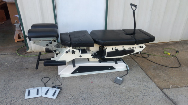 Used Elite Elevation Manual Flexion Table with