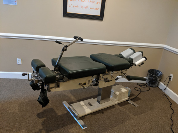 Used Zenith Cox 95 Flexion Table