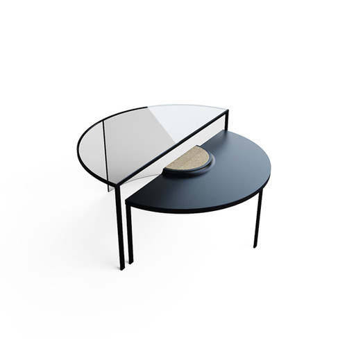 Cir Coffee Table