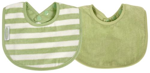 The beautifully soft and luxurious organic cotton is more durable than regular cotton so will last longer. Perfect for bottle or breast feeding and feeding solids. Stain resistant too!