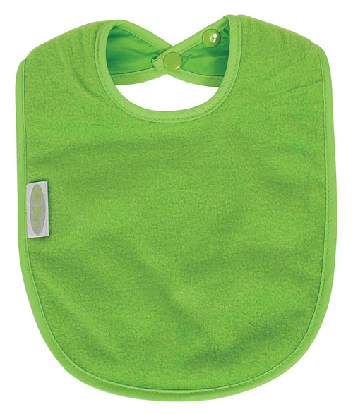Fleece allows for quick wipe down of liquids. Easy wash, quick line dry or tumble dry safe, they stay soft and bright, wash after wash