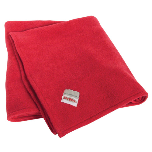 Size: 100 x 104cm  Materials: 100% Polyester  Features: Super soft and snuggly fleece blanket keeps little ones warm  Stain Resistant. Machine washable. Tumble dry safe