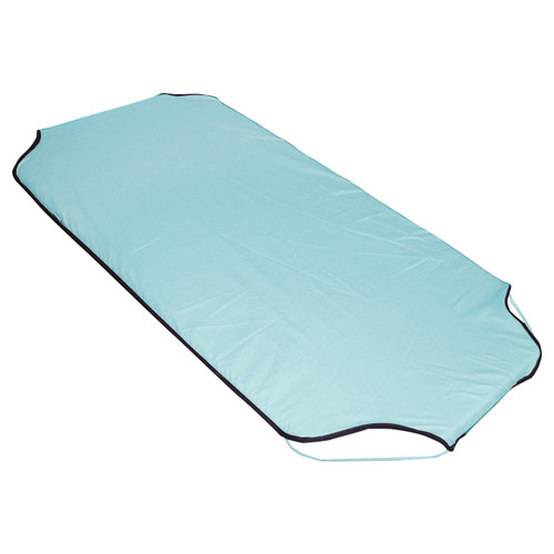 Sky Blue Polycotton Fitted Stacker Bed Sheet