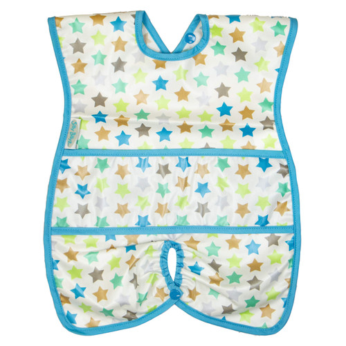 Stella Wipe Clean Highchair Hugger Bib