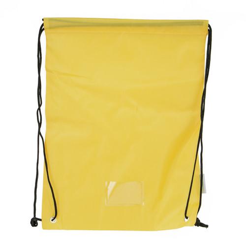 Yellow Student Bag