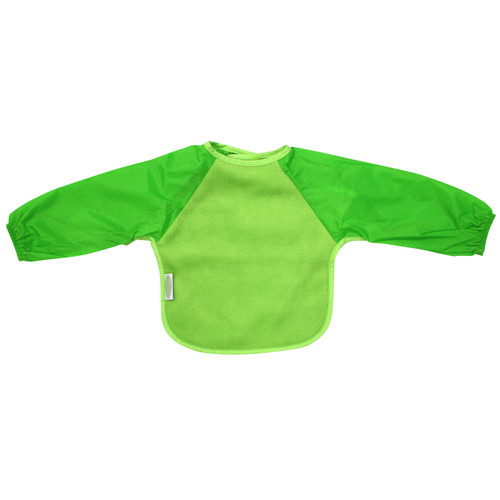 Lime Fleece Long Sleeve Bib