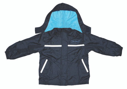 Aqua/Navy Waterproof Jacket