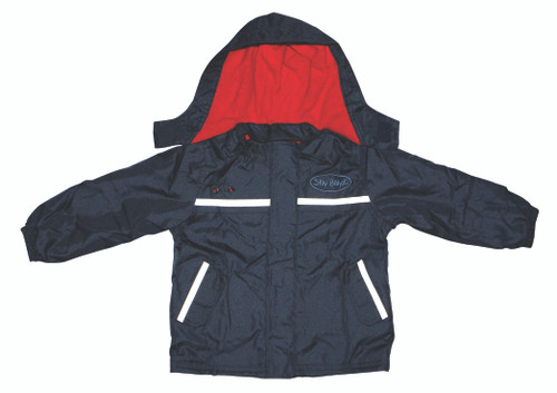 Red/Navy Waterproof Jacket