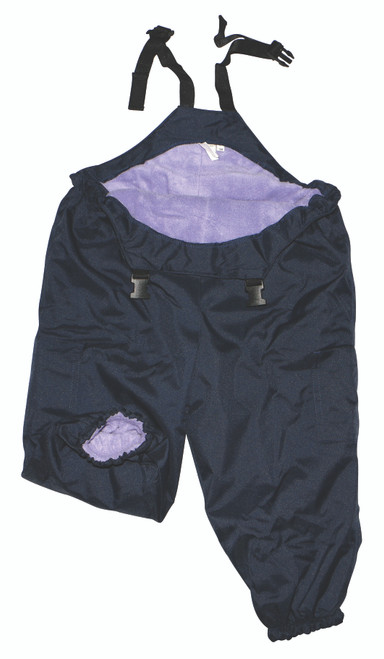 Lilac/Navy Waterproof Overalls