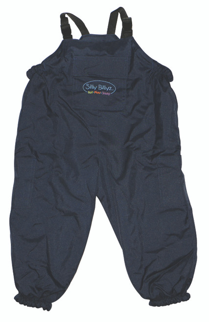 Navy Waterproof Overalls [Unlined]