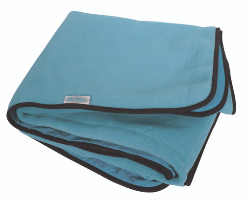Large Sky Blue Fleece Play Mat