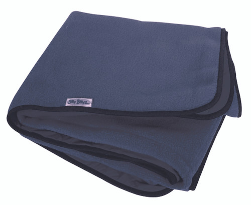 Large Navy Fleece Play Mat