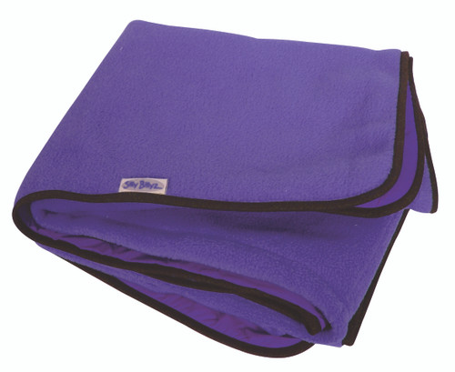 Large Purple Fleece Play Mat