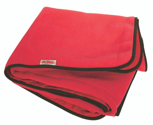 Large Red Fleece Play Mat