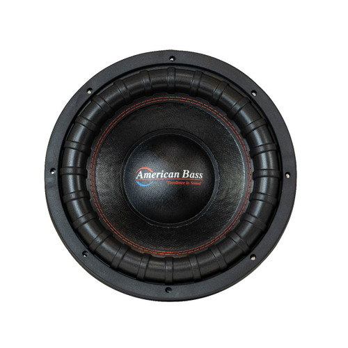 """American Bass USA XFL-1244 12"""" Subwoofer, 2000W, 3"""" Dual 4 Ohm Voice Coil"""
