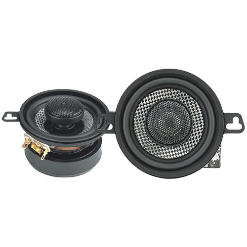 "American Bass 3.5"" 2 Way Coaxial Speaker w/ Neodymium Swivel Tweeter 80W 4 Ohm SQ 3.5"
