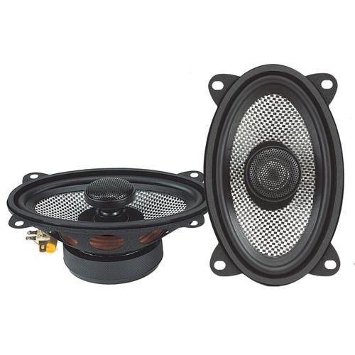 "American Bass 4x6"" 2 Way Coaxial Speaker w/ Neodymium Swivel Tweeter 100W 4 Ohm SQ 4.6"