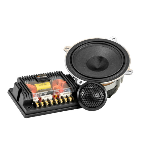 "American Bass 5.25"" Speaker Component Set 400W w/ Dome Tweeters + Crossovers Symphony-525"