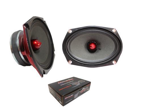 """American Bass Godfather 6x9"""" 400 Watt 4 Ohm Midrange Speaker Godfather 6.9"""