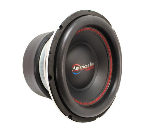 "American Bass 10"" 1600 Watts 3"" Dual 4 Ohm Voice Coil Subwoofer Titan 1044"