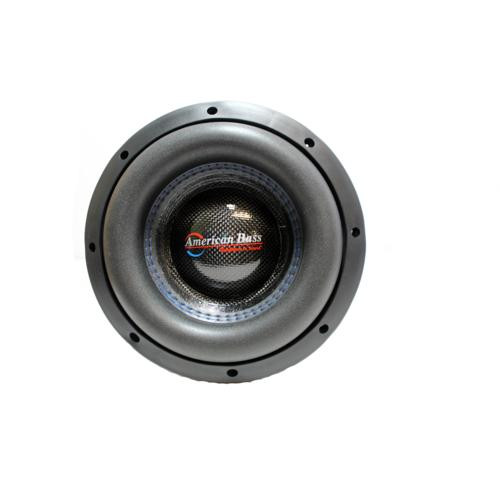 "American Bass 8"" HD Series 800W Dual 2 Ohm Subwoofer AB-HD-8-D2"