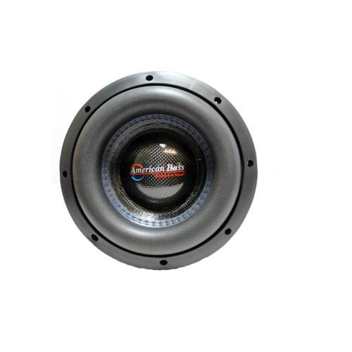"American Bass 8"" HD Series 800W Dual 2 Ohm Subwoofer AB-HD-8-D2"