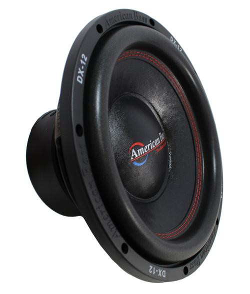 "12"" Subwoofer 800W Single 4 Ohm Bass Pro Car Audio American Bass DX-12"