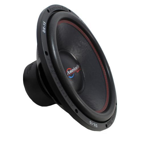 "15"" Subwoofer 1000W Single 4 Ohm Bass Pro Car Audio American Bass DX-15"