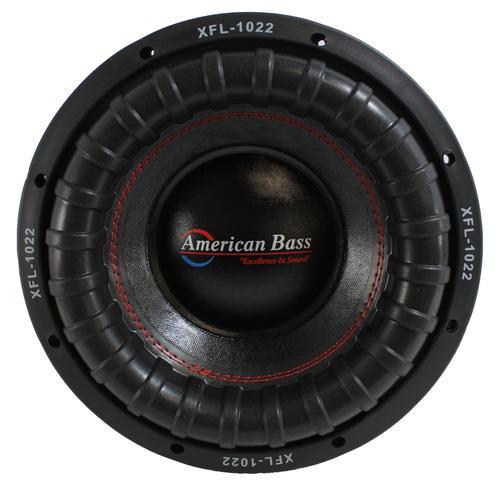 "American Bass 10"" XFL Series 2000W Dual 2 or 4 Ohm Car Subwoofer XFL-10"