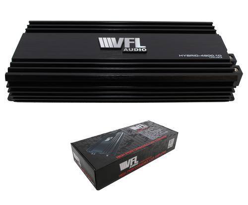 American Bass / VFL Audio Hybrid Monoblock Amplifier Linkable 4800 Watts Class D VFL HYBRID-4800.1D