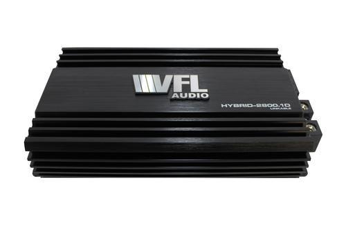 American Bass / VFL Audio Hybrid-2800.1D Class D Monoblock Amplifier, 2800 Watts, Linkable